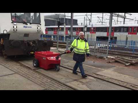 V-Move XXL voiture de train ou de train électrique à conducteur marchant | Xerowaste.ca