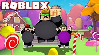 EAT MY CAKE OR DIE! SIMASGAMER BIRTHDAY SPECIAL in ROBLOX / BLOX4FUN