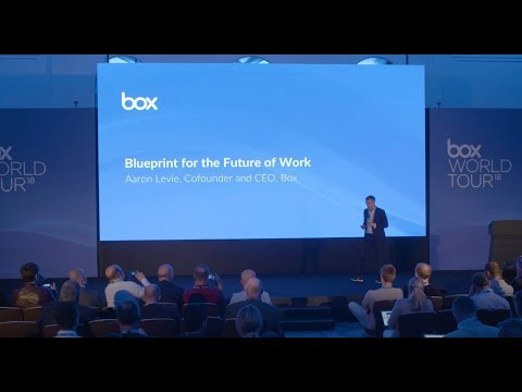 Box World Tour Europe 2018 - Opening Keynote with Aaron Levie ...