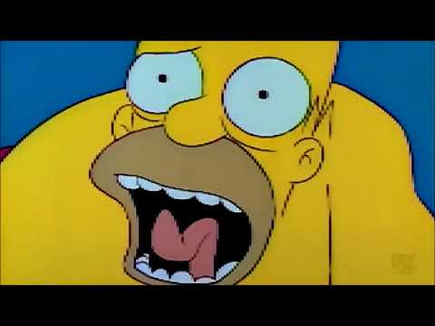Homer Plays Video Games With Bart  Who Will Win  The Simpsons