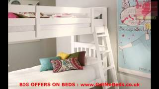 2013 Sale  White Bunk Beds @ Getmebeds.co.uk