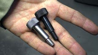 Два способа воронения металла в гаражных условиях! Токарные работы