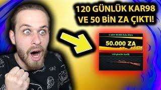 50 BİN ZA VE 120 GÜNLÜK KAR98 ÇIKTI! - ZULA MVP KASA!