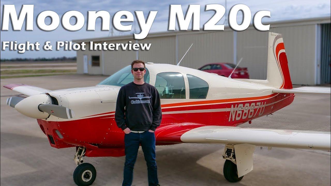 Download Mooney M20c - Flight and Pilot Interview