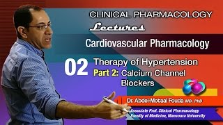 Cardiovascular Pharmacology - 02 - Calcium channel blockers