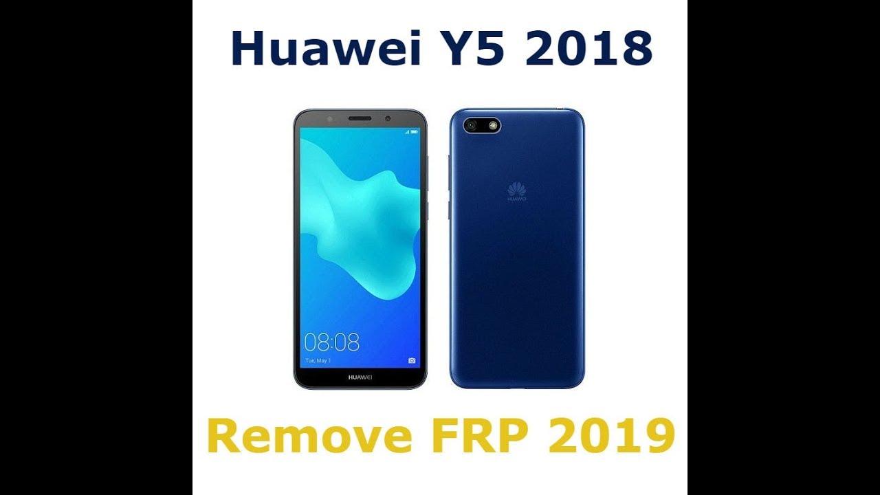 Remove FRP Huawei Y5 2018 (DRA – L01) – Bypass google account huawei