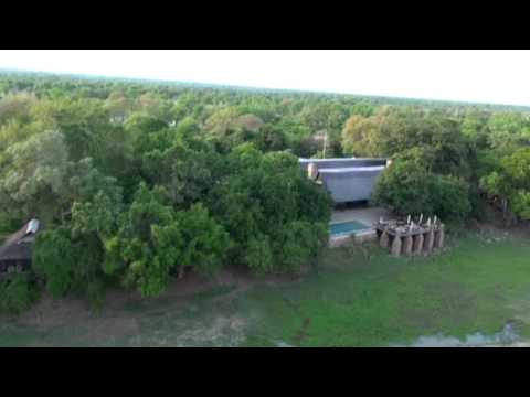 Bird's Eye View of Mfuwe Lodge and Luangwa