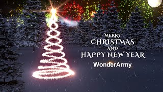 Marry Christmas Intro for My WonderArmy | Free Sony Vegas Intro Template