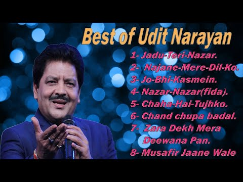 Udit Narayan 10 Top Romantic Songs  Udit Narayan Hindi Romantic Songs