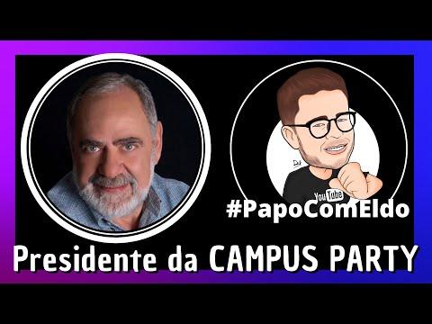 Papo com Eldo: Presidente da Campus Party