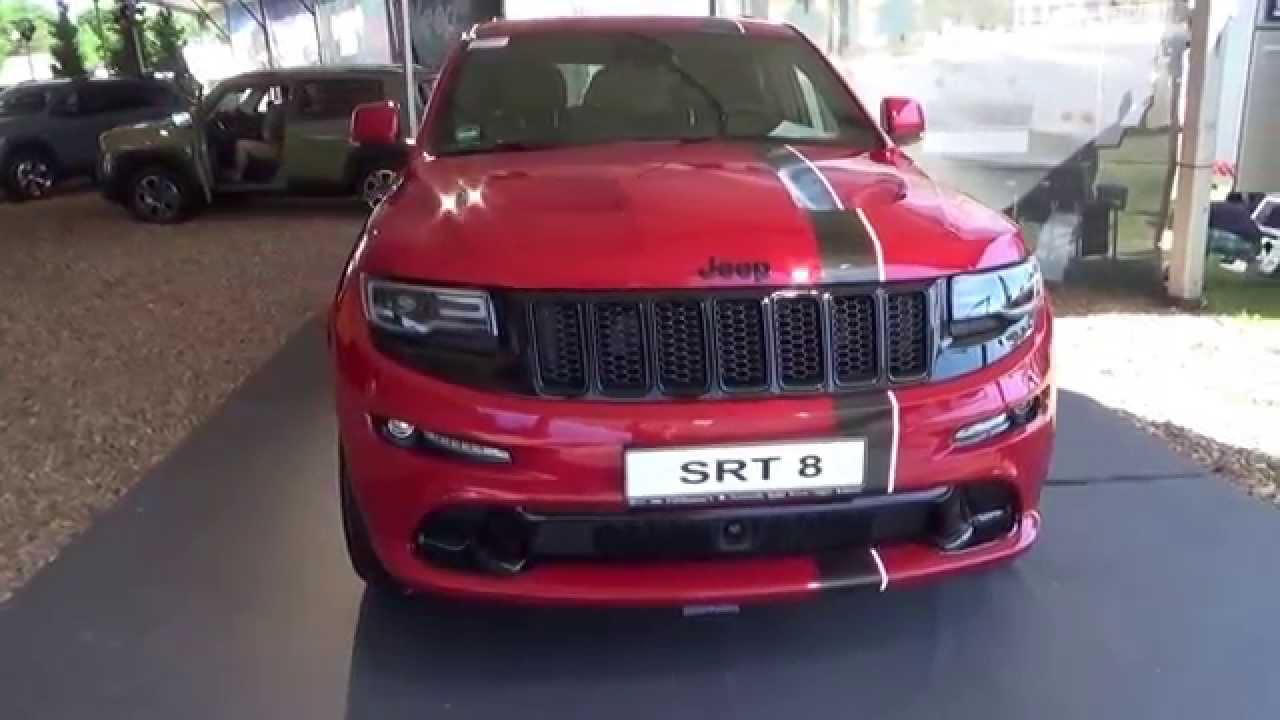 2015 - jeep grand cherokee srt8 red vapor abenteuer allrad 2015