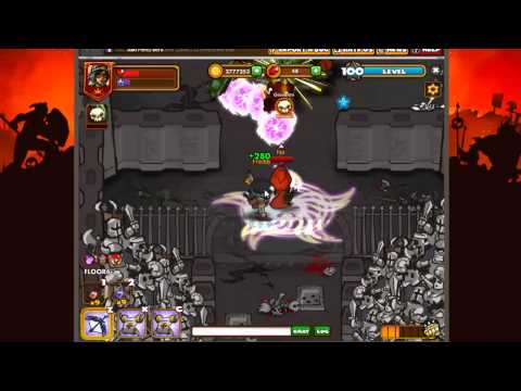 Playing with two Flying Arrow and Lil´Red _ Dungeon Rampage Destruction