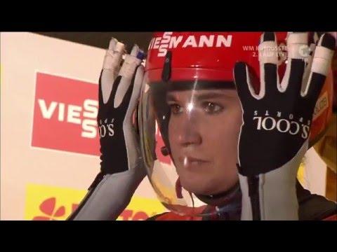 Natalie Geisenberger - Rennrodel-WM Königssee 2016