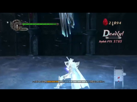 Devil may cry 4 special edition : walkthrough gameplay part 4