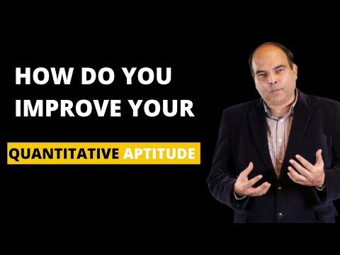 How do you Improve your Quantitative Aptitude!