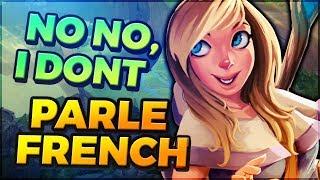 Je Troll un Français qui fait la technique d'honneur, il ne veut pas avouer LOL