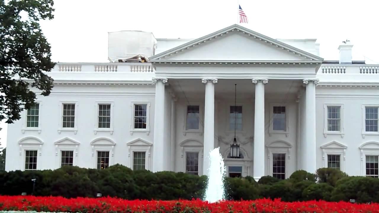 White House North Portico (HD) - YouTube