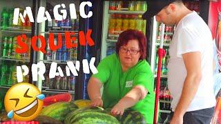 Magic Squeek Prank🤣 -Julien Magic