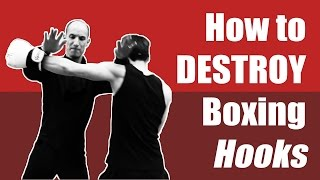 Wing Chun vs Boxing Hooks - How To Block Punch In a Street Fight