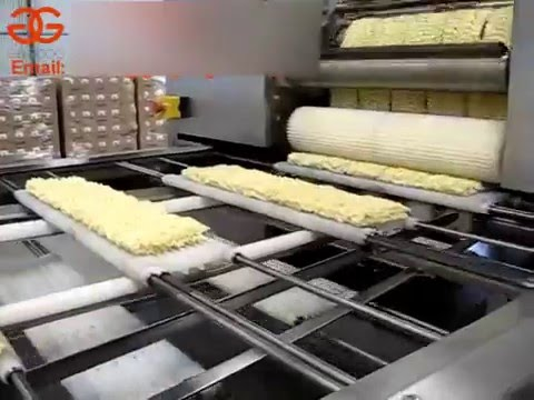 Instant Noodle Production Line Video|Instant Noodles Manufacturing Plant