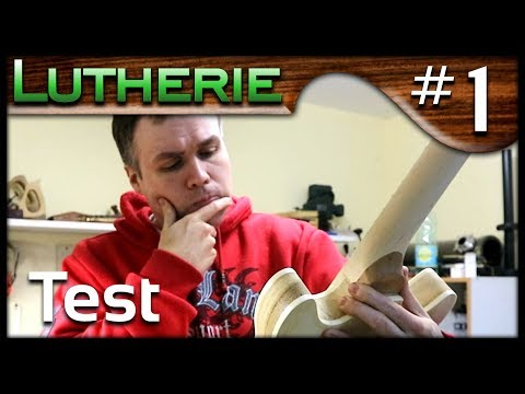 LUTHERIE: Je teste un kit Gibson ES style low-cost #1
