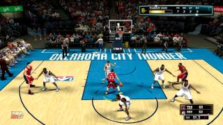 NBA 2k13 MyCareer: Alley Oop off the glass with 61 Pass?