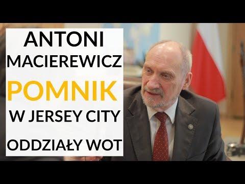 Macierewicz: Działania burmistrza Jersey City wokół pomnika miały charakter polityczny i symboliczny