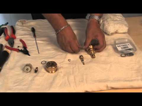1850 thermostatic cartridge - YouTube