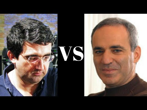 Amazing Chess Game : Vladimir Kramnik vs Garry Kasparov - Munich 1994 - King's Indian - Brilliancy!