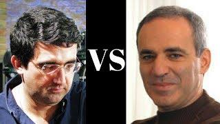 Amazing Game : Vladimir Kramnik vs Garry Kasparov - Munich 1994 - King