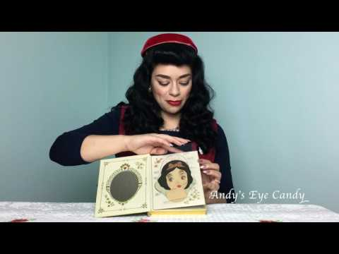 Snow White Eyeshadows by Besame Cosmetics