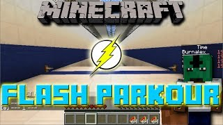 Minecraft Mini-Game - Flash Parkour Ft. SCMowns, Vaecon, and Burnalex