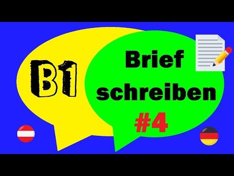 Deutsch B1 Prüfung Und A2 Briefe Schreiben Teil 1 Einladungen