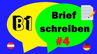 Brief Schreiben Für Eine Wohnung Für Prüfung B1 كيف تكتب رسالة