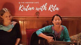 Kirtan with Rita 17.07.2021 ~ Singing Meditation Concert at the Amaram Café