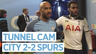 FUNNY MASCOTS! | TUNNEL CAM | Man City 2-2 Spurs