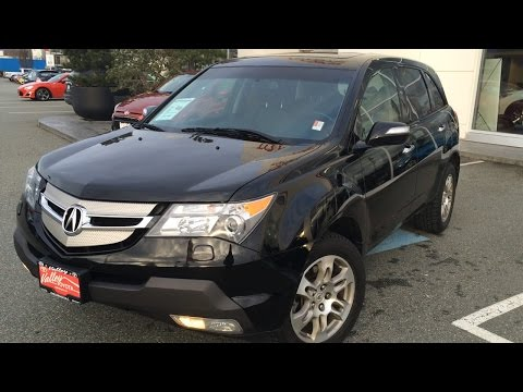 (SOLD) 2009 Acura MDX Preview, For Sale At Valley Toyota Scion In Chilliwack B.C. # 16131A