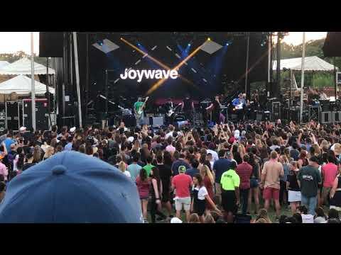 Joywave - It's a Trip! - Live in Houston White Oak Music Hall Outdoor Amp 9.30.2017