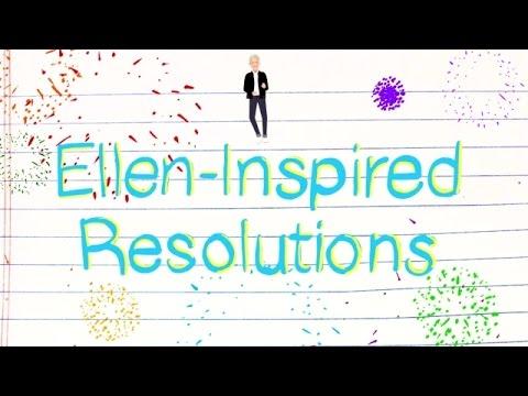 Ellen-Inspired New Year's Resolutions