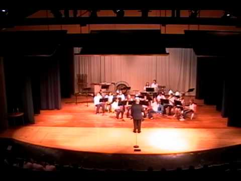 Niagara Junior High Band Spring Concert 2012 - The Crown of Castile