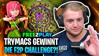 🤩🏆 Durch diese TAKTIK gewinne ich die FREE2PLAY Challenge?! | Clash of Clans mit Chef und Ruru!