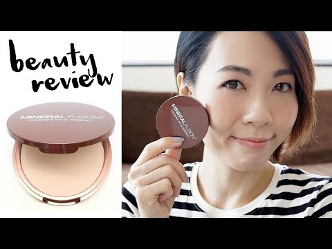 Beauty Review - Mineral Fusion Pressed Mineral Foundation | 高比 Gobby