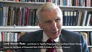 Martin Rees - The Apollo Programme for Tackling Climate Change