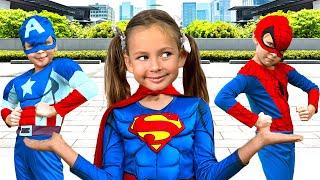 Супергерои - Песня для детей | Детские песни от Майи и Маши