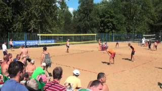 Пляжный волейбол: Череповец VS Ярославль