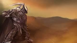 Black desert warrior animation
