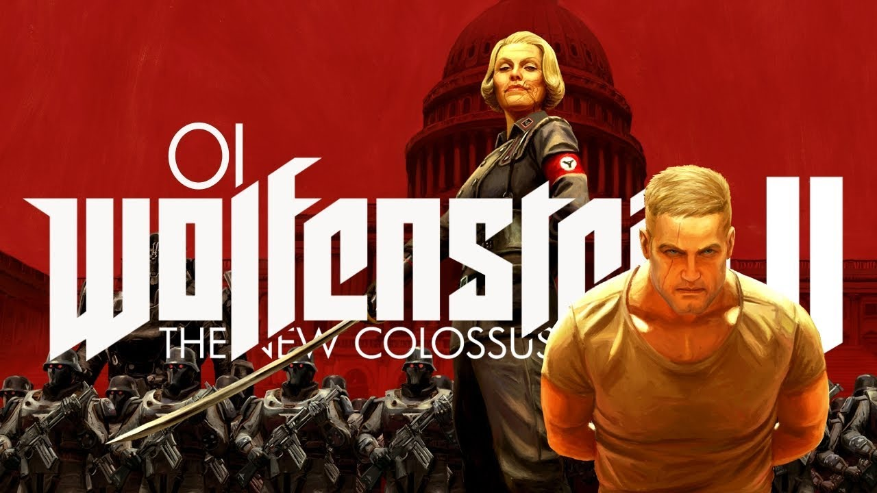 Wolfenstein 2: The New Colossus (PL) #1 – Wielki powrót (Gameplay PL / Zagrajmy w)