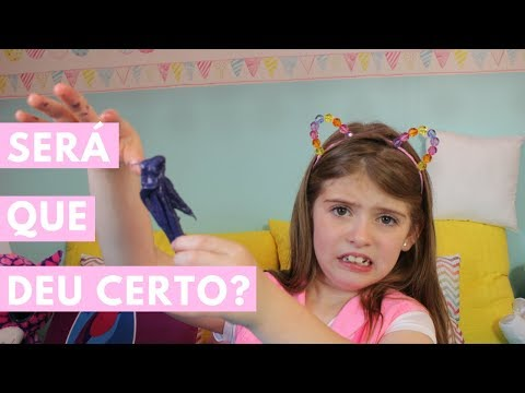 SLIME DE ESMALTE COM 2 INGREDIENTES 💅 TUTORIAL