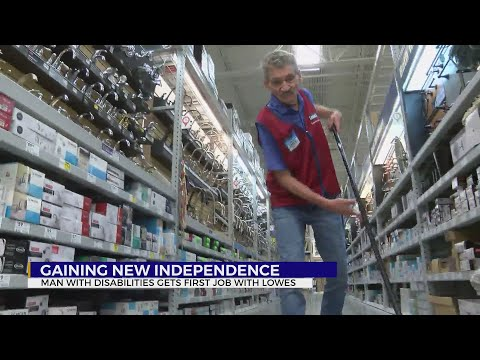 More Than A Paycheck: Local Man With Disabilities Lands First Job At Lowes