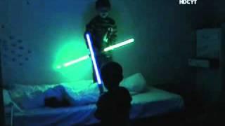 Charlie Bit Star Wars